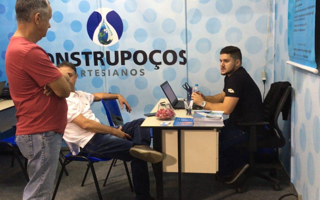 A Construpoços participou do 30ª Expo Usipa